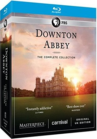 Downton Abbey The Complete Collection Blu ray