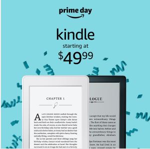 kindle prime day